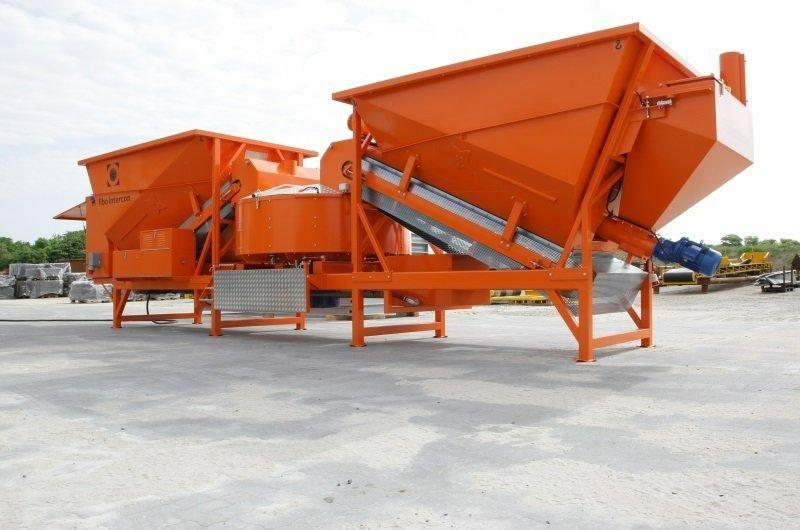 Semi Mobile Batching Plants