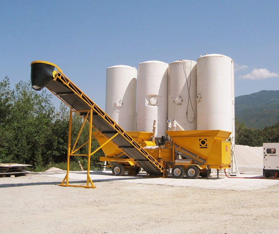 Remote Site Concrete Production