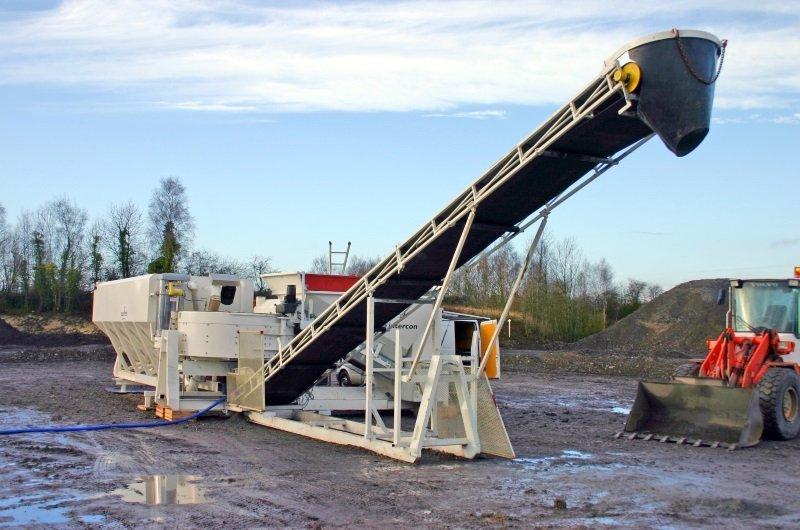 concrete belt conveyors