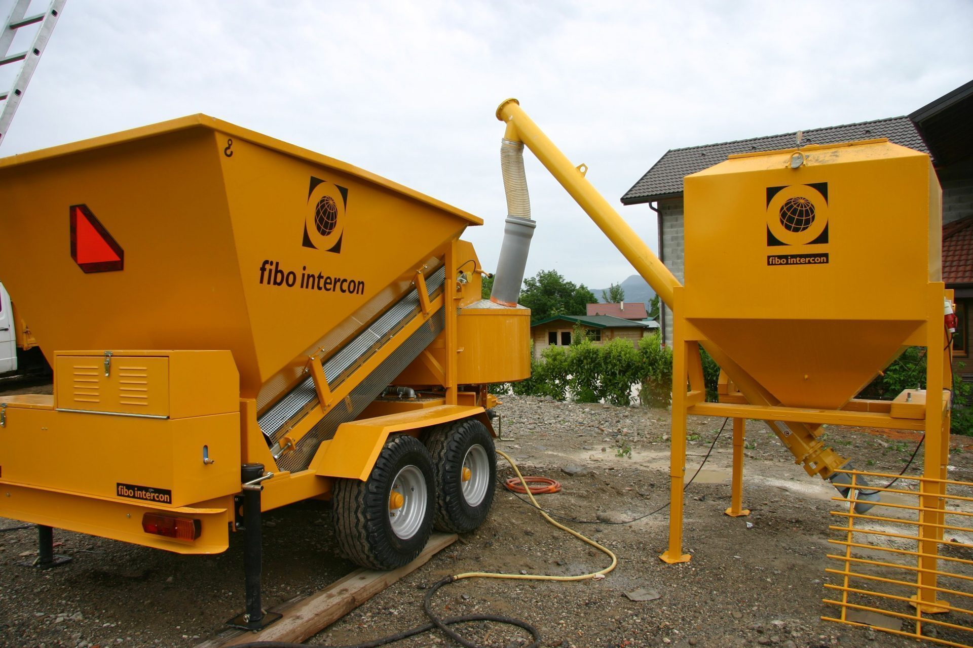 B1200 Mobile batching plant