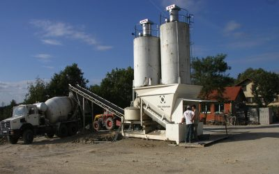 Mini Ready Mix Concrete Production