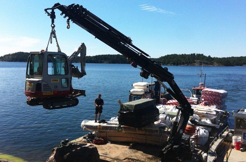Marine Concrete Batching