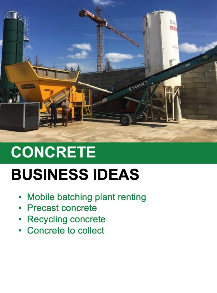 concrete batching plant brochure