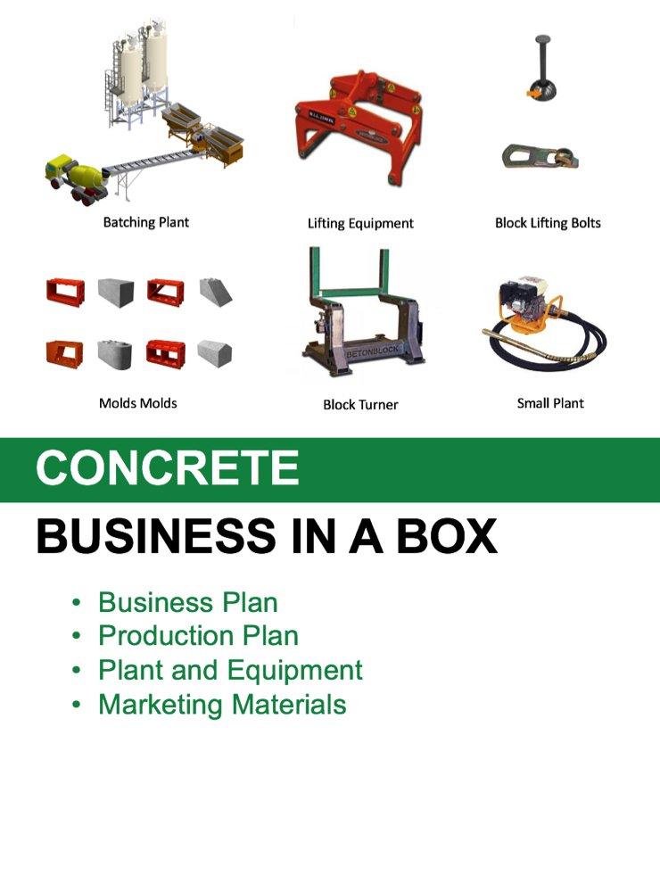 Concrete Business Plan