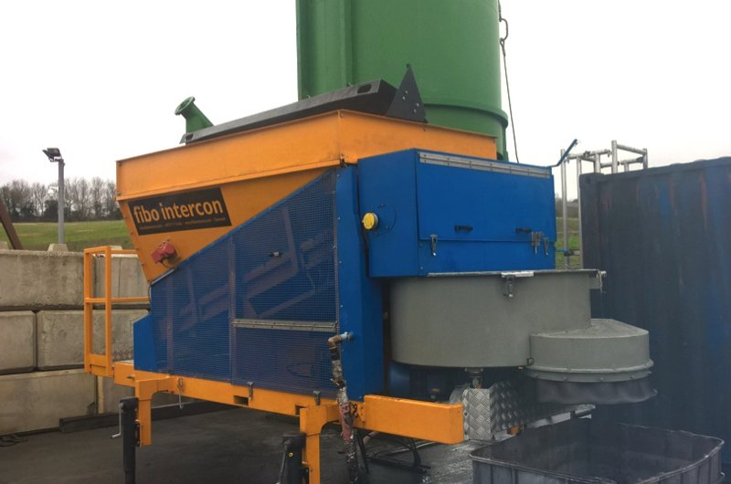 Coloured Concrete batching plant
